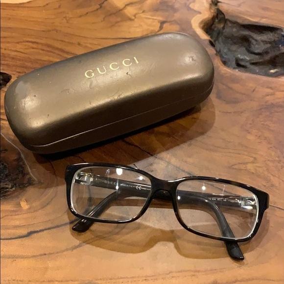 Gucci Brown Eyeglasses Tortoise Frame gg 1634 rt7